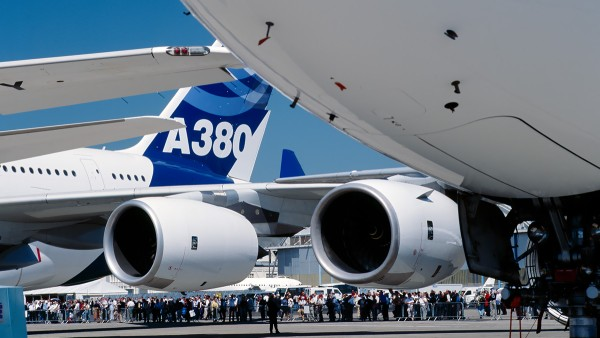 Commercial applications: Airbus A380