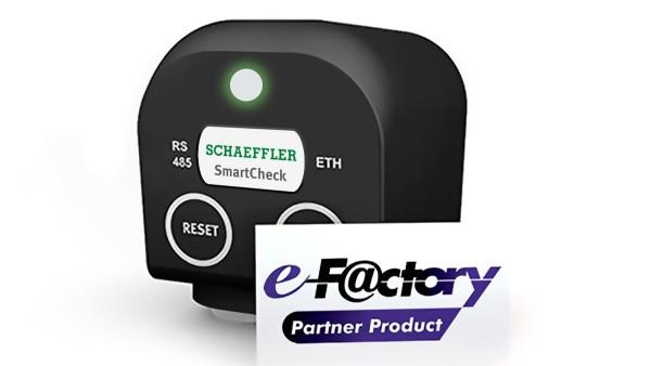 Schaeffler SmartCheck e-F@ctory partner product