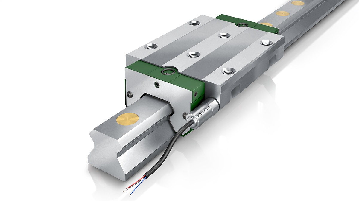 DuraSense from Schaeffler, lubrication condition monitoring and requirement-based lubrication